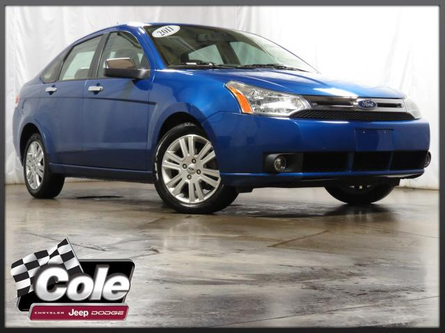 2011 Ford Focus 4dr Sdn SEL